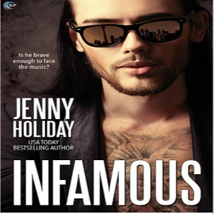 Infamous by Jenny Holiday Blog Tour, Excerpt & Giveaway!