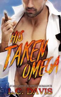 His Taken Omega by L.C. Davis Cover Reveal & Giveaway!