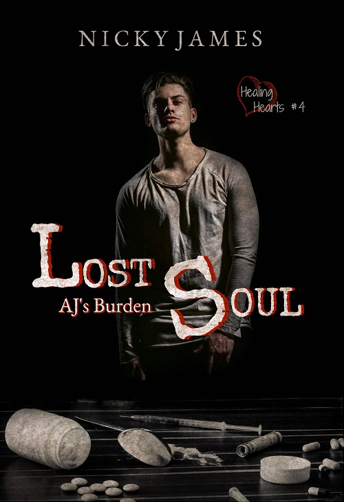 Lost Soul: AJ's Burden by Nicky James Blog Tour, Excerpt & Giveaway!