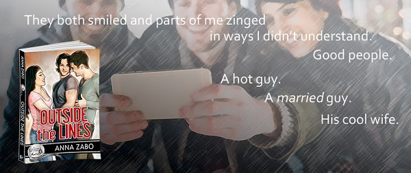 Outside the Lines by Anna Zabo Blog Tour, Excerpt & Giveaway!