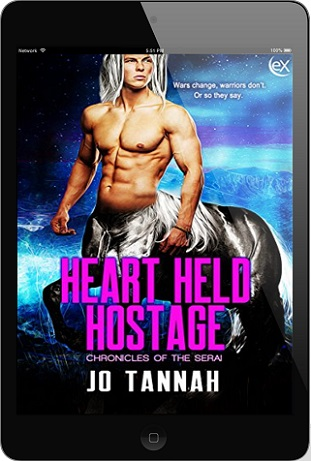Heart Held Hostage by Jo Tannah