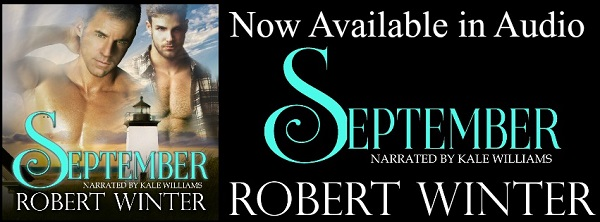 September by Robert Winter Audio Blast, Interview, Excerpt & Giveaway!