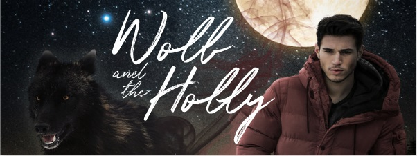 Wolf & The Holly by Sam Burns Release Blast, Excerpt & Giveaway!
