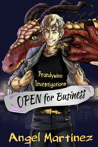 Angel Martinez - Branywine Investigations - Open For Business Cover 3287ygh