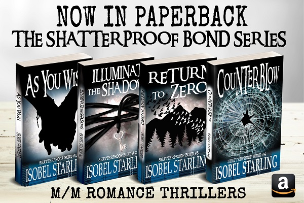 Shatterproof Bond series by Isobel Starling Blog Tour, Excerpt & Reviews!