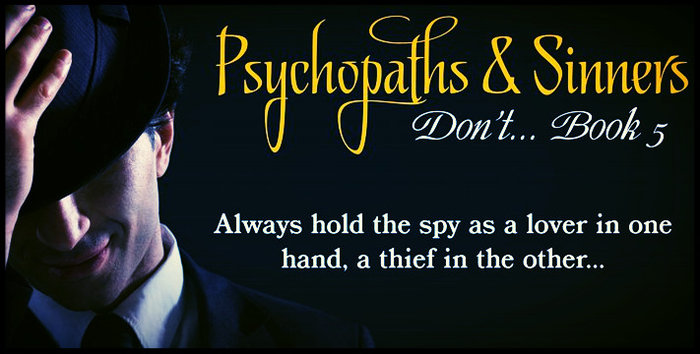 Psychopaths & Sinners by Jack L. Pyke Cover Reveal!