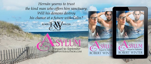 Asylum by Robert Winter Blog Tour, Guest Post, Excerpt & Giveaway!