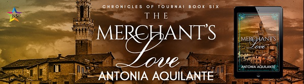 The Merchant's Love by Antonia Aquilante Release Blast, Excerpt & Giveaway!