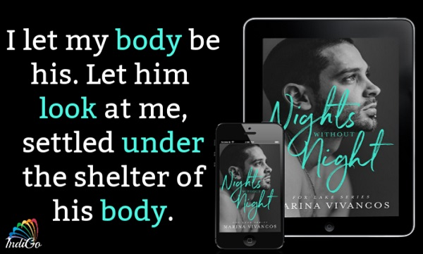 Nights Without Night by Marina Vivancos Release Blast, Excerpt & Giveaway!