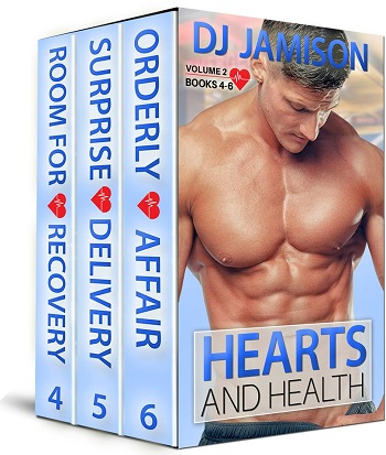 Hearts & Health Volume 2 by D.J. Jamison Release Blast, Excerpts & Giveaway!