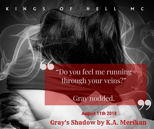 Gray's Shadow by K.A. Merikan Release Blast, Excerpt & Giveaway!