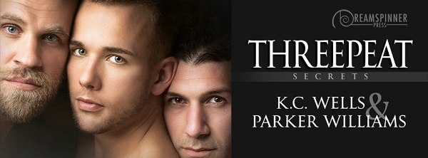 Threepeat by K.C. Wells and Parker Williams Guest Post, Excerpt & Review!