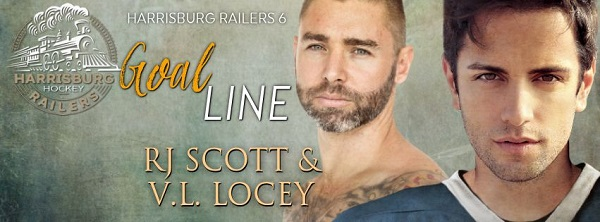 Goal Line by R.J. Scott & V.L. Locey Blog Tour, Excerpt, Review & Giveaway!