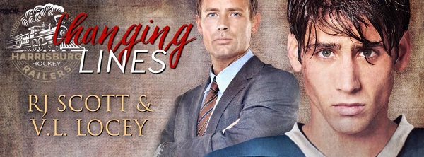 Changing Lines by V.L. Locey and R.J. Scott ~ Audiobook