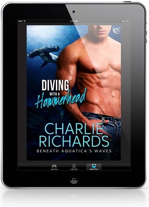 Diving with a Hammerhead by Charlie Richards