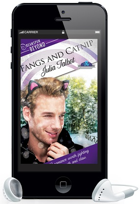 Fangs and Catnip by Julia Talbot ~ Audio Review