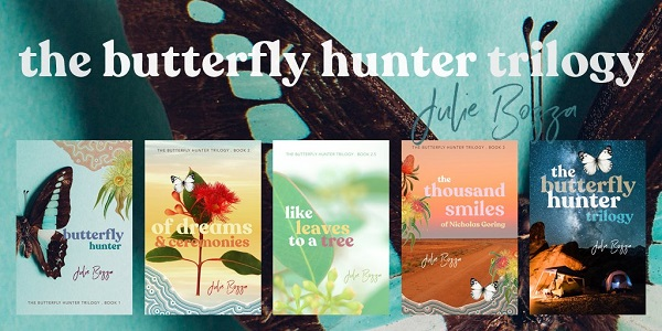 Julie Bozza – Butterfly Hunter Trilogy Book Blast & Giveaway!