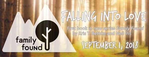 Falling Into Love by Nell Iris & Kris T Bethke Release Blast, Excerpt & Giveaway!