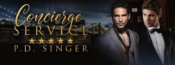 Concierge Service by P.D. Singer Release Blast, Excerpt & Giveaway!