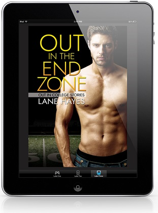 Out in the End Zone by Lane Hayes Release Blast, Excerpt & Giveaway!