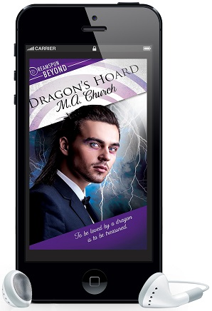 Dragon's Hoard by M.A. Church ~ Audio Review