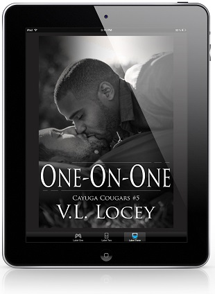 One-On-One by V.L. Locey Cover Reveal & Giveaway!