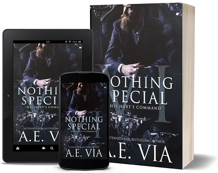 Nothing Special IV: His Hart's Command, S.W.A.T. Edition by A.E. Via Blog Tour, Guest Post, Exclusive Excerpt & Giveaway!