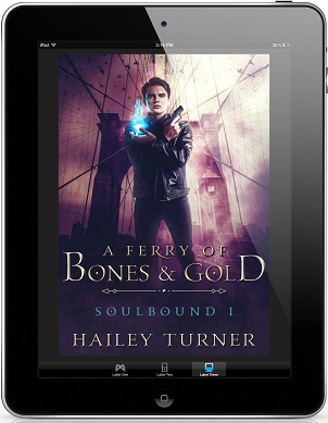Hailey Turner - A Ferry of Bones & Gold 3d Cover 21284383