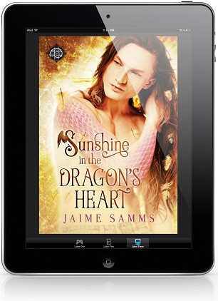 Sunshine in the Dragon's Heart by Jaime Samms Guest Post & Excerpt!