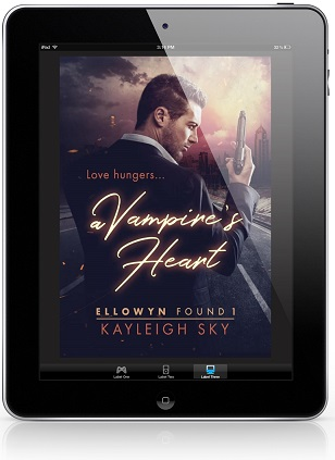 A Vampire's Heart by Kayleigh Sky Release Blast & Giveaway!
