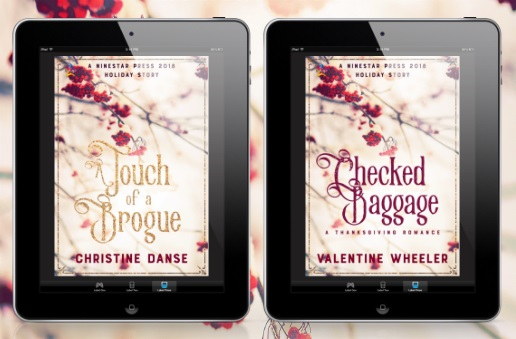 A Touch of a Brogue by Christine Danse and Checked Baggage by Valentine Wheeler Release Blast, Excerpts & Giveaway!
