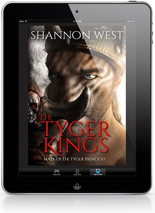 The Tyger King by Shannon West