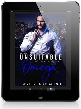 Unsuitable Omega by Skye R. Richmond
