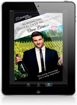 Romancing The Undercover Millionaire by Clare London Blog Tour, Excerpt & Giveaway!