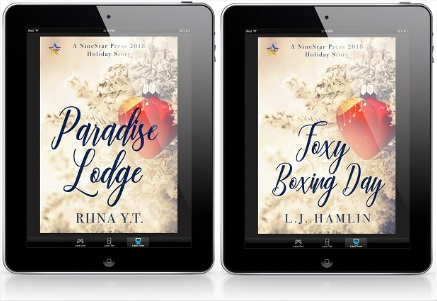 Paradise Lodge by Riina Y.T. & Foxy Boxing Day by L.J. Hamlin Release Blast, Excerpts & Giveaway!