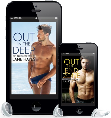 Out in the Deep & Out in the End Zone by Lane Hayes Audio Blast & Giveaway!