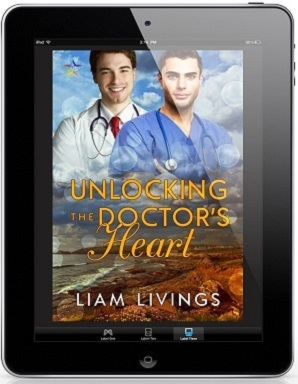 Unlocking the Doctor's Heart by Liam Livings Release Blast, Excerpt & Giveaway!
