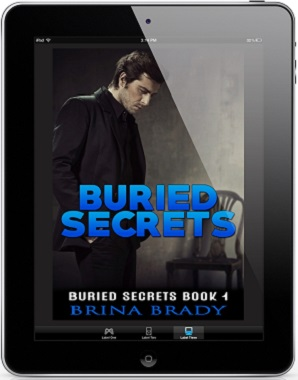 Brina Brady - Buried Secrets 3d Cover 9617
