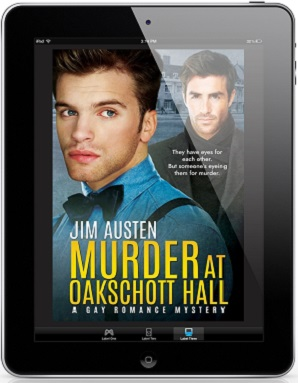Murder At Oakschott Hall by Jim Austen Cover Reveal, Excerpt & Giveaway!