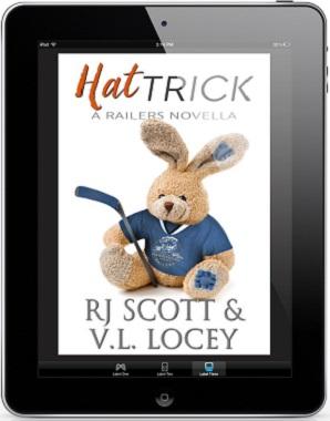 Hat Trick by R.J. Scott & V.L. Locey Blog Tour & Giveaway!