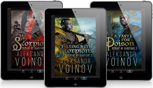 Memory of Scorpions by Aleksandr Voinov Series Blitz, Reviews & Giveaway!