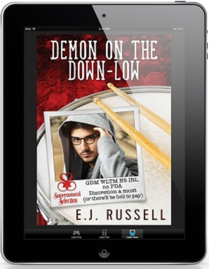 Demon on the Down-Low by E.J. Russell Blog Tour, Excerpt & Giveaway!