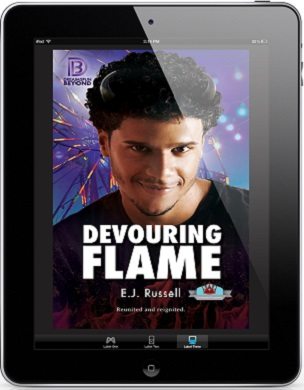 Devouring Flame by E.J. Russell