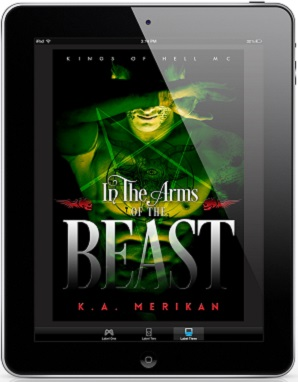 In The Arms Of The Beast by K.A. Merikan Release Blast & Giveaway!