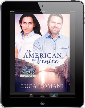 An American In Venice by Luca Domani