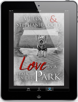 Love Is A Walk In The Park by V.L. Locey & Stephanie Locey Cover Reveal & Giveaway!