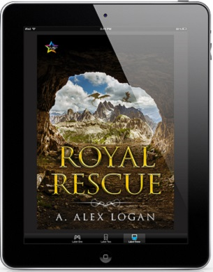 Royal Rescue by A. Alex Logan Release Blast, Excerpt & Giveaway!