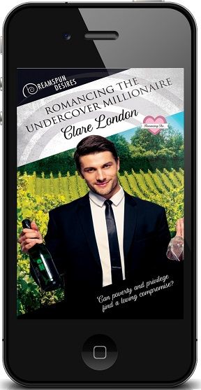 Romancing the Undercover Millionaire by Clare London ~ Audio Review