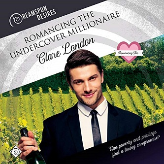 Clare London - Romancing the Undercover Millionaire Audio Cover 324984yg