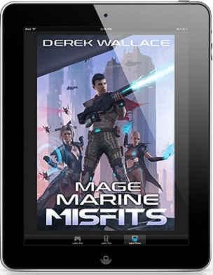 Mage Marine Misfits by Derek Wallace